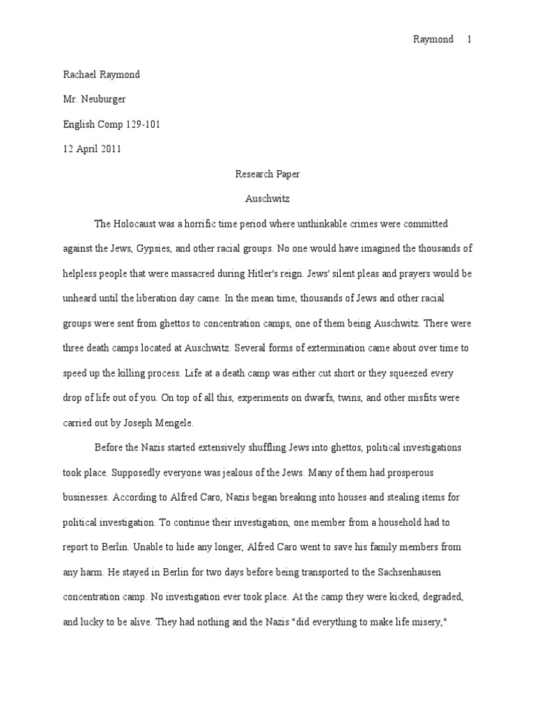 essays on the holocaust holocaust essay topics conclusion paragraph ...