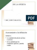 Analisis de La Ofertadks