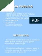 FAMA PUBLICA