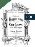 Czerny - 22 Rondinos
