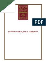 Historia Copta de José el Carpintero
