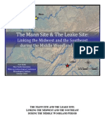 The Mann Site & the Leake Site