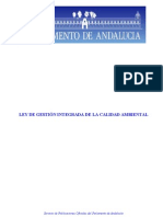 Gica Ley Calidad Ambiental Andalucia