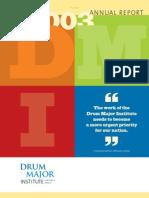 Drum Major Institute: 2003 Annual Report