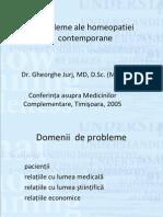 Probleme Ale Homeopatiei Contemporane(2)