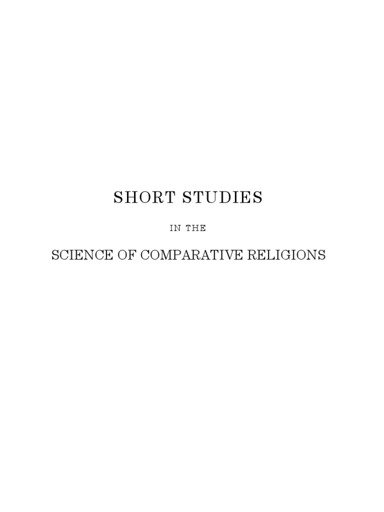 Forlong - Short Studies in the Science of Comparative