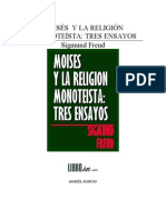 Freud-Moises y La Religion Monoteista