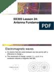 24284863 EE303 Lesson 24 Antenna Fundamentals