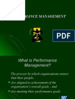 Performance Mngmt
