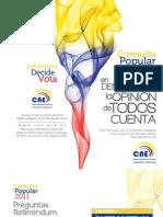 Preguntas de la Consulta Popular Ecuador 2011