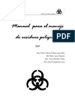 Manual de Residuos Peligrosos 2005