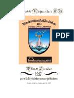 Plan de Estudios 97 Version 2008