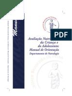 Manual Nutrologia SBP 2009