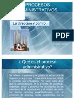 Proceso Administrativo (Dirreccion y Control)