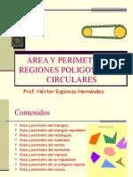 Areas y perimetros
