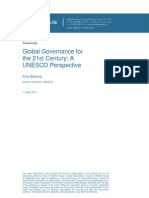 Global Governance forthe 21st Century