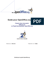open office Guide Writer  Fr