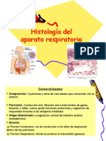 Histologia Del Aparato Respiratorio