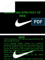 25005456 Marketing Strategy of Nike
