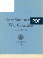 WWII Georgia Navy Casualties