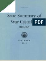 WWII Idaho Navy Casualties