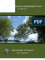 Coastal Resource Management Plan, CY 2008-2017, Leganes, Iloilo, Philippines
