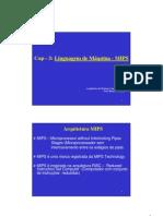 Linguagem de máquinas -MIPS