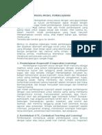 Model Pembelajaran Inovatif Revisi