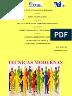 TECNICAS MODERNAS
