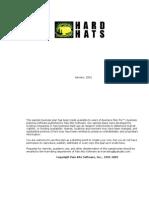 Business Plan Example Hardhats