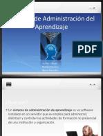 Sistemas de Administración del  Aprendizaje