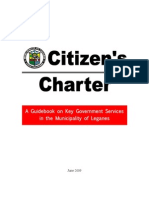 Citizen's Charter, Municipality of Leganes, Iloilo, Philippines