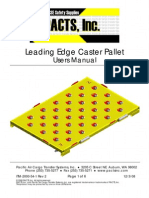 LE Caster Pallet 63 x 93 in Users Manual Rev 2