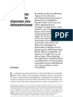 Las Diferentes Etapas de Las Relaciones Sino-latinoamericanas