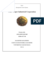 Tugas Paper Industrial Products Corp