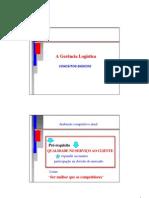 A Gerencia Logistica - Conceitos Basicos
