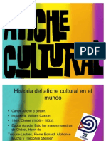 comunicación, afiche cultural