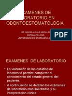 EXAMENES  DE LABORATORIO.