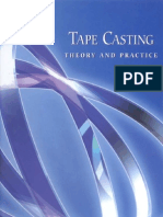 47452238 Tape Casting Theory and Practice