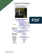 Folio Sejarah Tingkatan 2 Tun Dr. Mahathir Muhamad