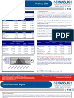DERIVATIVE REPORT FOR 17May - MANSUKH INVESTMENT AND TRADING SOLUTIONS