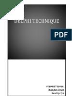 Delphi Report