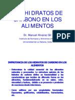 HIDRATOS DE CARBONO QA Maestría