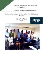 CCB Leadership Dev Workshop 2010 Report.