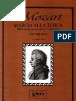 Rondo Alla Turca (Gerlini) - guitar