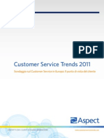 Aspect Customer Service Trends 2011