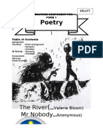Poetry Form 1