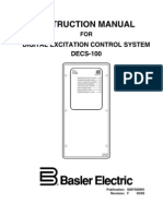 Voltage Regulator DECS-100 Manuel