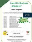 Business Certificate 3 2011