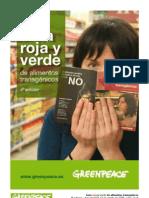 Guía roja y verde de alimentos transgénicos.